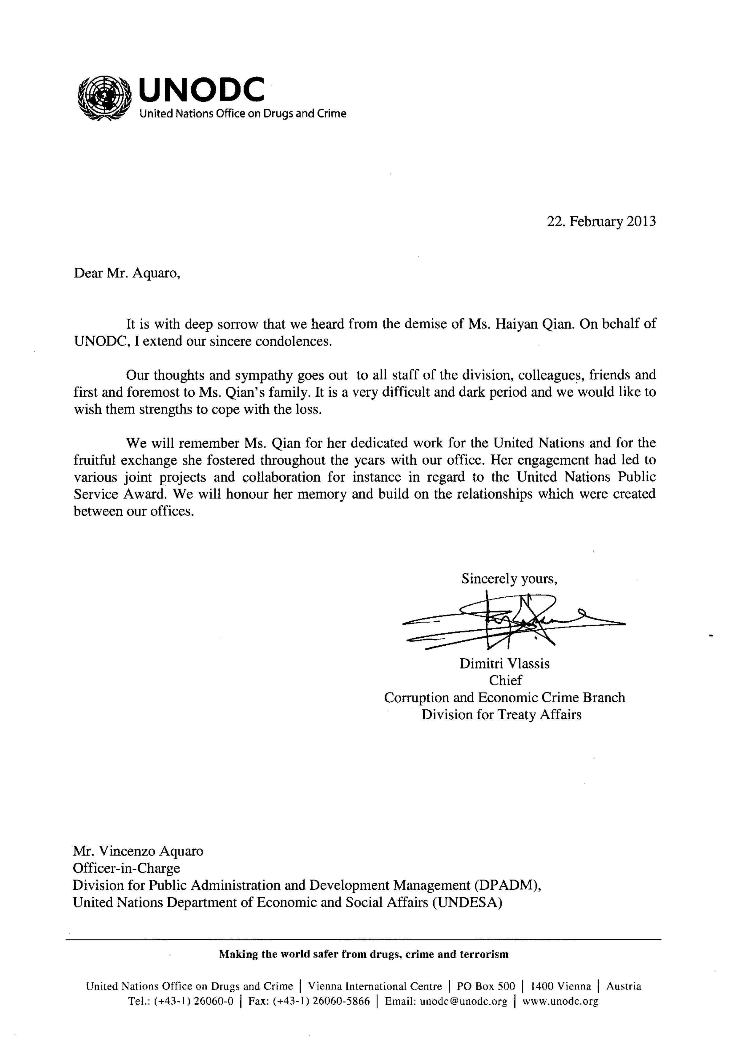 Doc7361040 Condolence Letter 25 best ideas about Condolence – Formal Condolences Letter